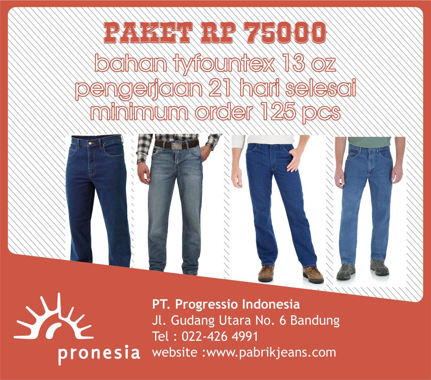 konveksi jeans